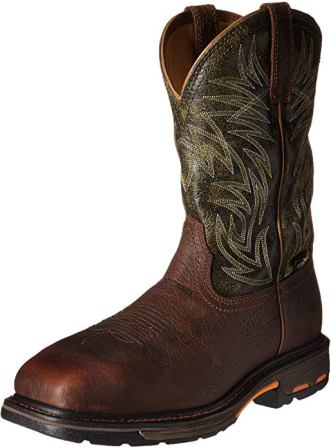 Ariat Men's Workhog Wide Square Metguard Composite Toe Work Boot