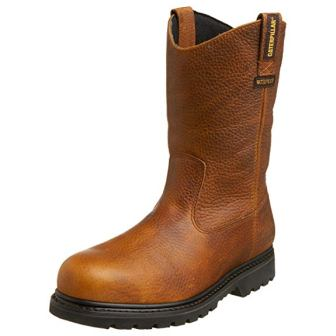 Caterpillar Men's Edgework Pull-On Waterproof Steel Toe Work Boot