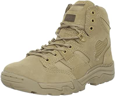Eleven (11) Tactical Men's Taclite Coyote Work Boots