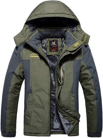 HOW'ON Men's Snow Jacket