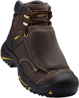 KEEN Utility Men's Mt Vernon 6-inch Steel Toe MET Work Boots