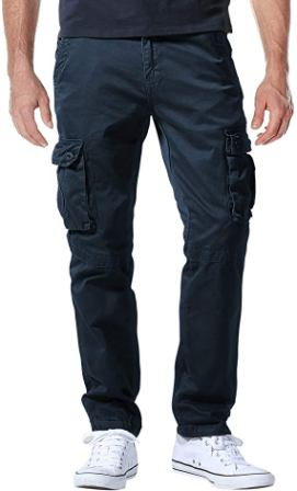 Match Cargo Pants Athletic Fit For Men