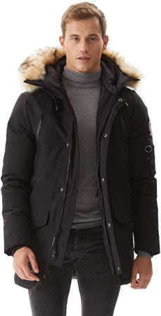 Molemsx Men's Warm Winter Jacket