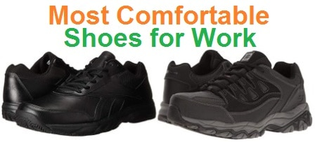 Most Comfortable Work Shoes in 2020 Guide For Men & Women