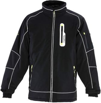 RefrigiWear Men's Extreme Softshell Insulated Jacket