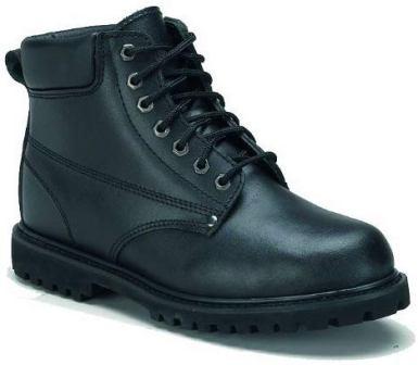 Rhino 61C01 6 inch Leather Work Boot – Black