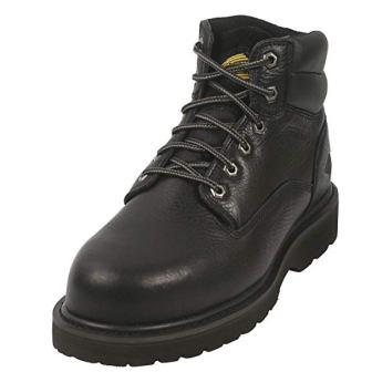 Rockhard 6 Inch Nonslip Steel Toe Work Boots for Men