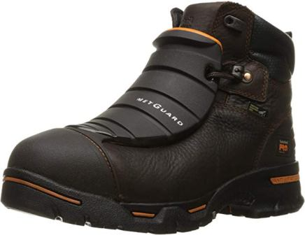 Timberland PRO Men's Endurance 6″ Steel-Toe EX MetGuard Boot