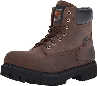"Timberland Pro Men's Direct Attach 6"" Steel Safety Toe Work Boot"