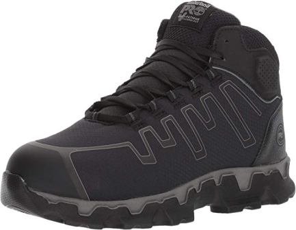 Timberland Pro Men's Powertrain Sport Mid Alloy Toe EH Work Shoes