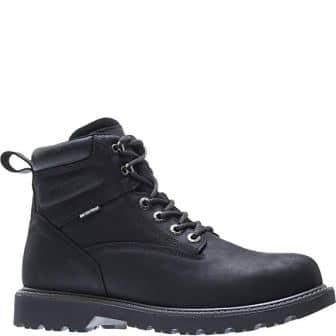 WOLVERINE Men's Floorhand Waterproof 6″ Steel Toe Work Boot
