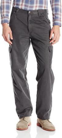 Wrangler Authentics Men's Fleece-Lined Cargo Pant