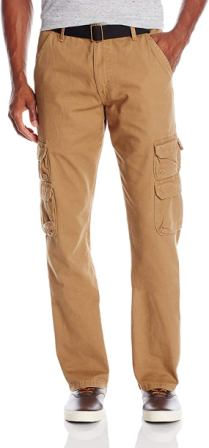 Wrangler Authentics Relaxed Fit Straight Cargo Pants For Men