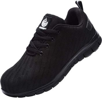 DYKHMILY Steel Toe Shoes