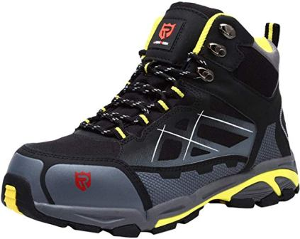 LARNMERN Steel Toe Industrial Construction Shoes