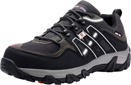 Larnmern Steel Toe Men's Safety Shoes