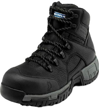 MICHELIN HYDROEDGE PUNCTURE-RESISTANT WATERPROOF WORK BOOTS