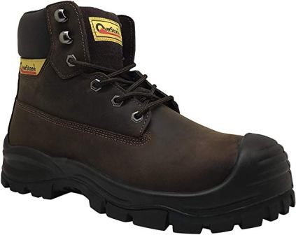 OVERSTONE LEATHER WORK BOOTS