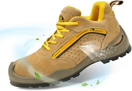 Safetoe Men's Safety Steel Toe Shoes