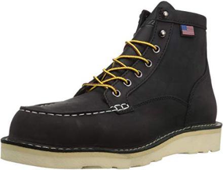 Danner Bull Run Moc Toe Work Boot – Black