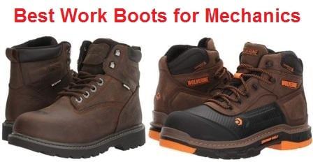 Top 15 Best Work Boots for Mechanics in 2020