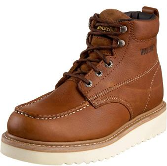 Wolverine Men's Moc-Toe 6″ Work Boot