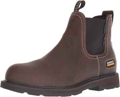 ARIAT Groundbreaker Chelsea Waterproof Steel Toe Work Boot
