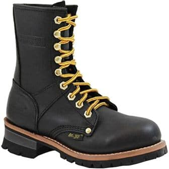 Ad Tec Women's Leather Logger Boot