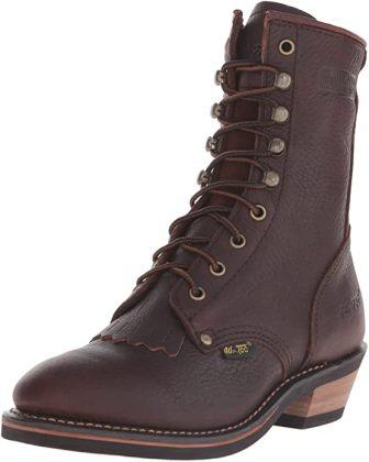 "AdTec Women's 8"" Packer Chestnut-W Boot"