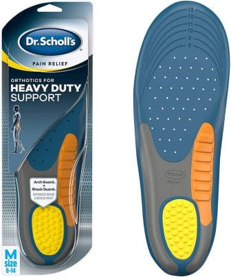 Dr. Scholl's heavy duty support Orthotics insole.