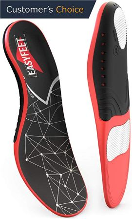 Easyfeet's insoles for men and women