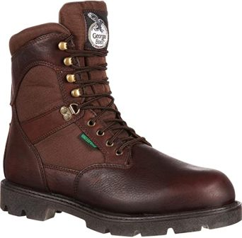 Georgia Boot Homeland Steel Toe Waterproof Insulated Work Boot