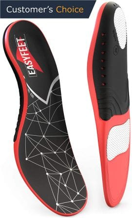 Physix Gear Sport Full Length Orthotic Inserts Best Shoe Insoles