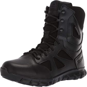 Reebok Women's Sub Lite Cushion Tactical RB806 Military & Tactical Boot, Black