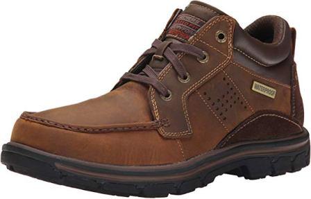 Skechers Melego Leather Chukka Waterproof Boot