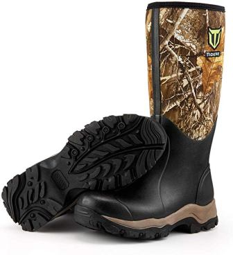TideWe Insulated Waterproof 16-Inch Men's Hunting Boot