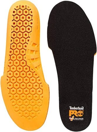 Timberland PRO anti-fatigue footbed insoles