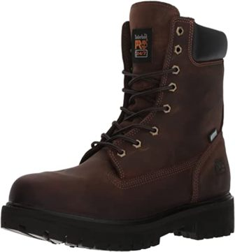 Timberland Pro Men's Direct Attach 8-Inch Waterproof Workboot