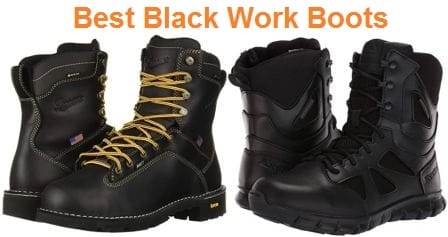 Top 15 Best Black Work Boots in 2020