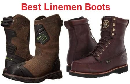 Top 15 Best Linemen Boots in 2020 - Ultimate Guide