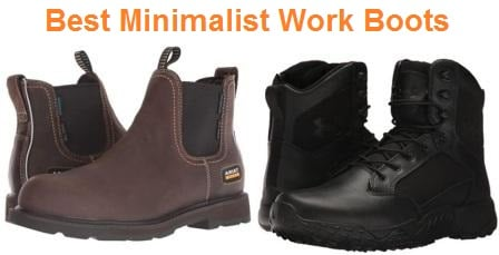 Top 15 Best Minimalist Work Boots in 2020