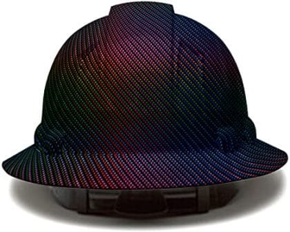 AcerPal Full Brim Carbon Fiber Hard Hat