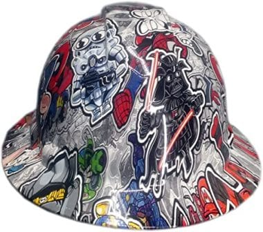 Izzo Graphics Full Brim Hard Hat