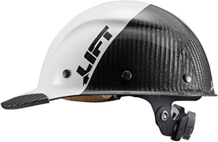 Lift Safety DAX Fifty 50 Carbon Fiber Full Brim Hard Hat