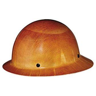 MSA Safety Skullguard with Staz-On Suspension Full Brim Hard Hat