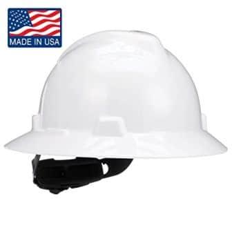 MSA Safety V-Gard Full Brim Hard Hat