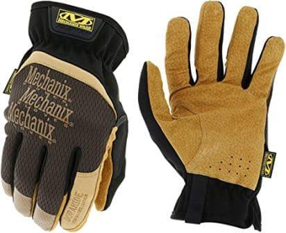 Mechanix Wear DuraHide FastFit Leather Work Gloves
