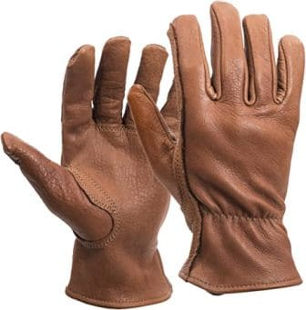 Midwest Gloves & Gear 650L Buffalo Leather Work Gloves