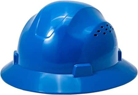 Noa Store HDPE Blue Full Brim Hard Hat
