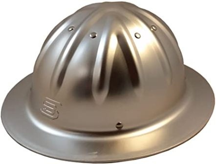 Skull Bucket Hard Hats made of Aluminum